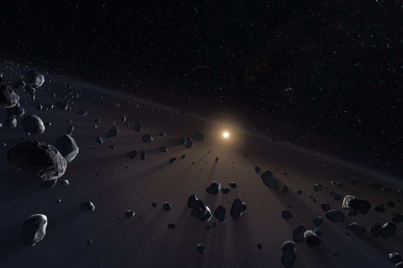 Más de 450 objetos previamente desconocidos han sido descubiertos rondando nuestro sistema solar exterior