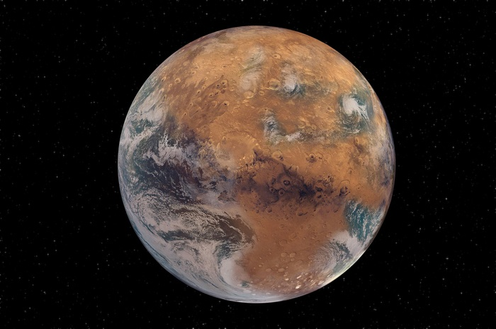 El tamaño de Marte podría ser un impedimento para que exista la vida