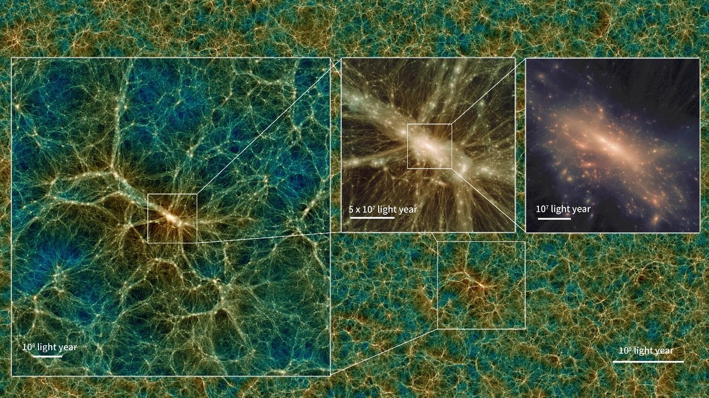 Ahora puedes explorar la simulación virtual más grande del Universo [VIDEO]