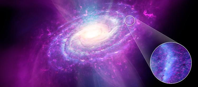 Nuestra galaxia no es tan homogénea como creíamos, asegura estudio