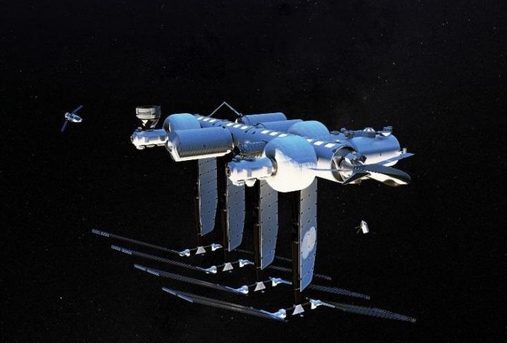 Blue Origin anuncia una estación espacial privada llamada Orbital Reef para 2030