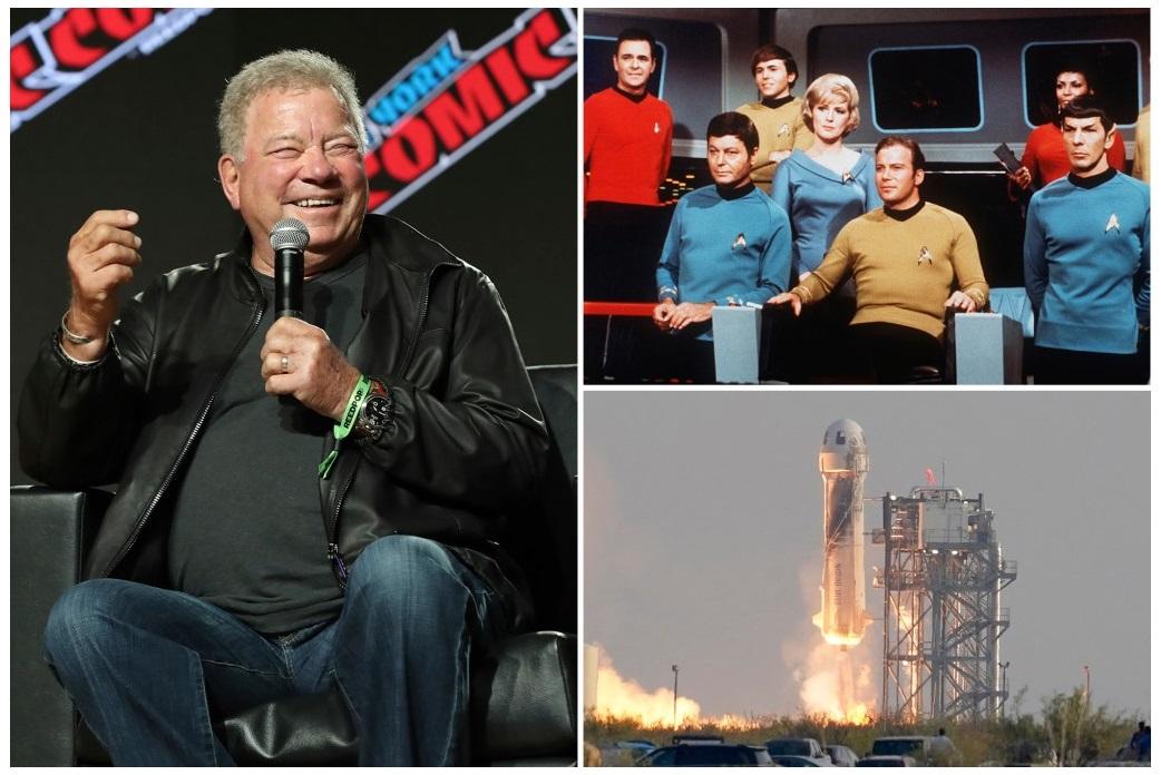 """El """"Capitán Kirk"""" de Star Trek viajará al espacio con Blue Origin y afirma estar aterrorizado"""