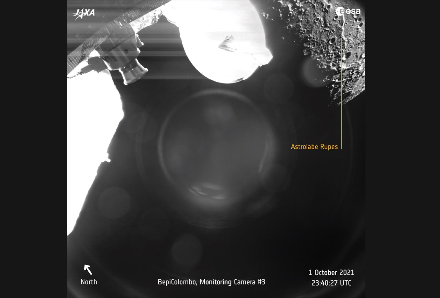 La histórica misión BepiColombo fotografió a Mercurio por primera vez