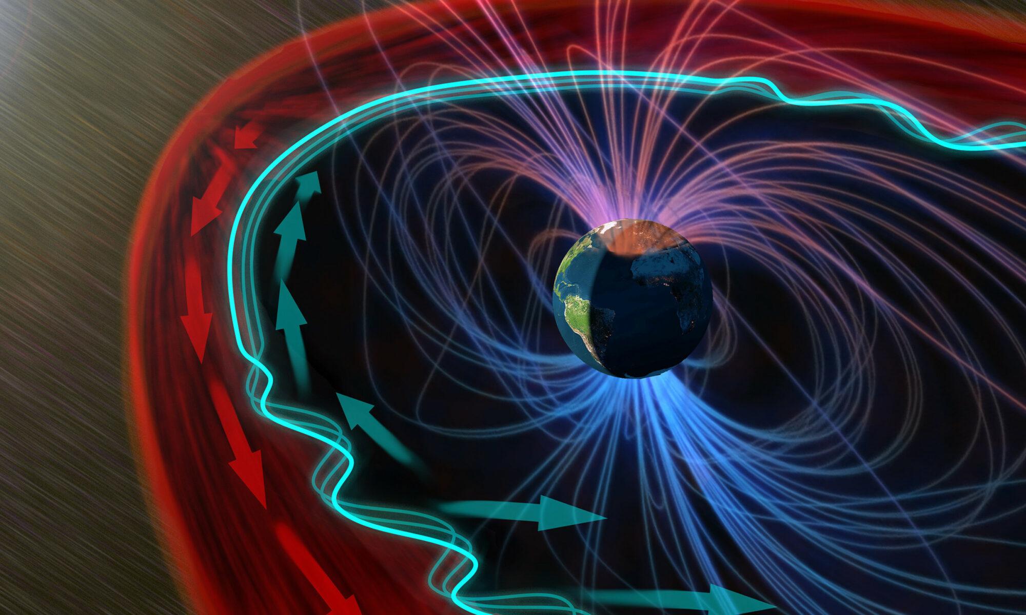 Esto ocurre cuando el viento solar golpea el borde de la magnetosfera de la Tierra [VIDEO]